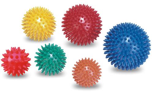 Míč masážní ježek pr.5 cm