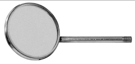 786-625 Dentální zrcátko zvětšovací č.4, prům. 22 mm