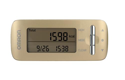 Omron Caloriscan HJA-306 Caloriscan - monitor kalorické spotřeby, zlatý