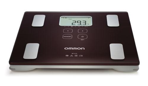 Omron BF 214 měřič tělesného tuku s lékařskou váhou