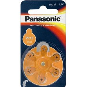 Baterie Panasonic PR-13 (PR48), 6ks