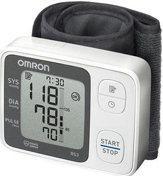 Tlakoměr OMRON RS3 na zápěstí