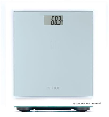OMRON HN 289-ESL Osobní váha, šedá