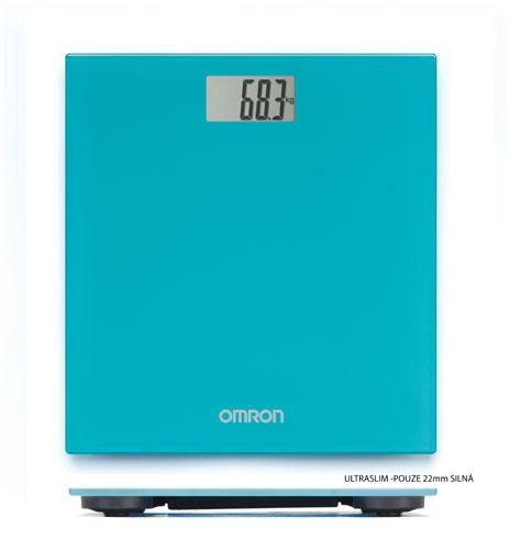 OMRON HN 289-EB Osobní váha, tyrkysová