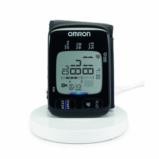 Tlakoměr na zápěstí OMRON RS8 s NFC podložkou