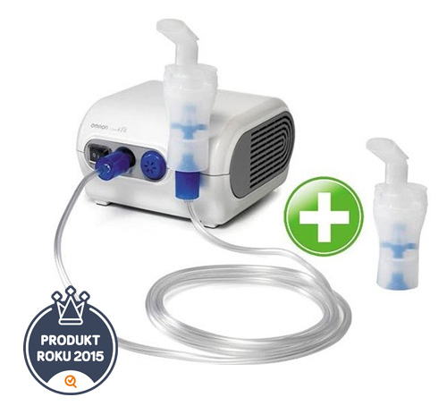 Inhalátor kompresorový OMRON C28P +druhá inhalační souprava NAVÍC!