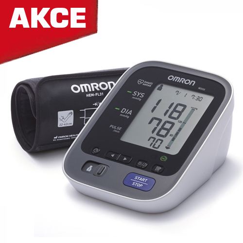 Tlakoměr Omron M500, LED indikátory (Nový model)