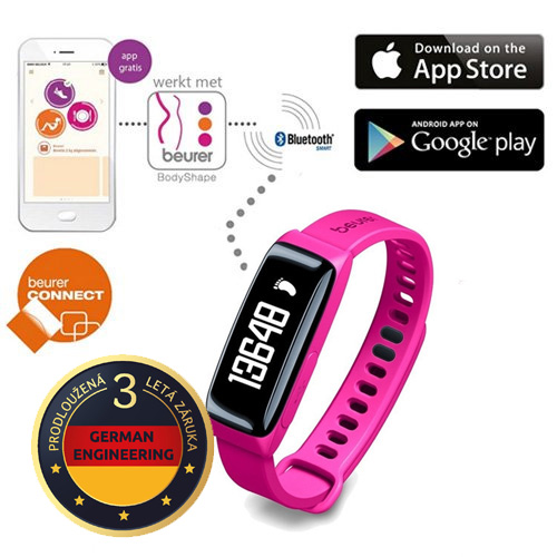 Senzor aktivity BEURER AS 81 purpurový (růžový)