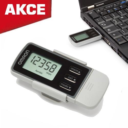 OMRON HJ-322U Monitor pohybové aktivity (krokoměr) s USB připojením do PC