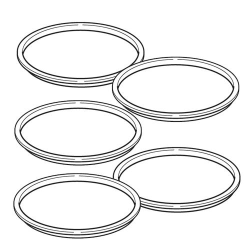 Těsnící kroužek pro kryt medikačního tanku - NE-U17 , Zvýhodněné velké balení 5 kusů