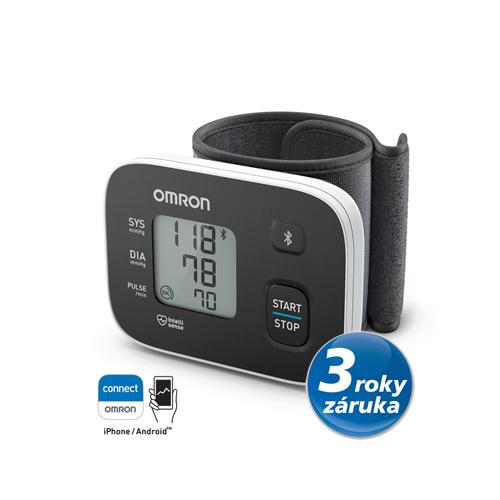OMRON RS3 Intelli IT tlakoměr na zápěstí s bluetooth připojením