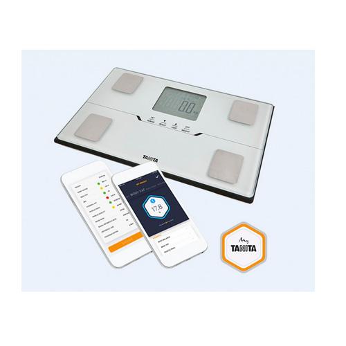 Tanita BC 401 (bílá) Chytrá osobní váha s tělesnou analýzou a připojením Bluetooth