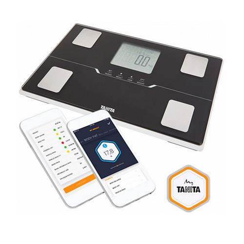 Tanita BC 401 (černá) Chytrá osobní váha s tělesnou analýzou a připojením Bluetooth